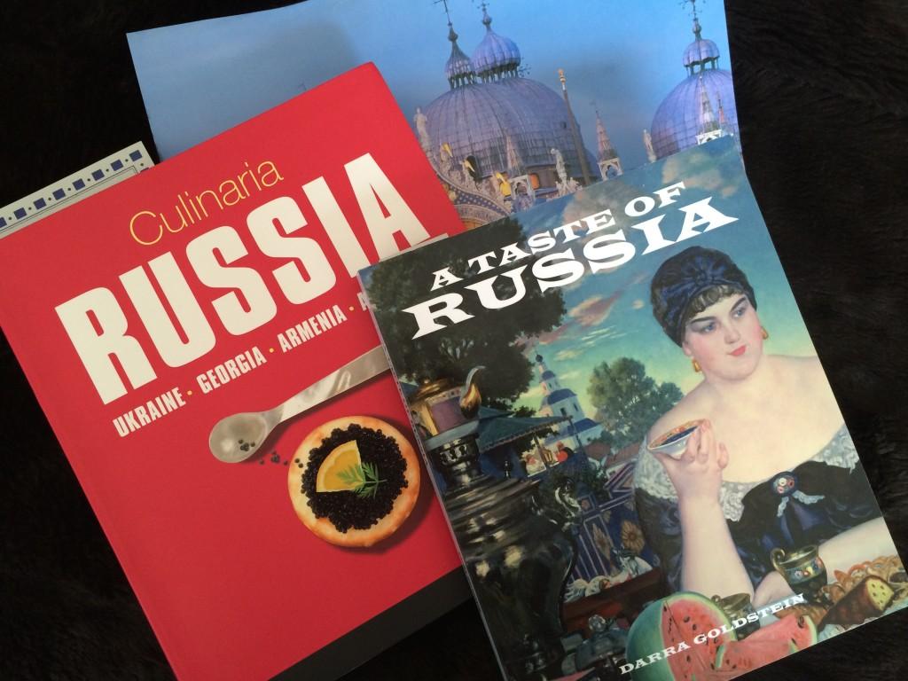 Modern Russian Cookbook