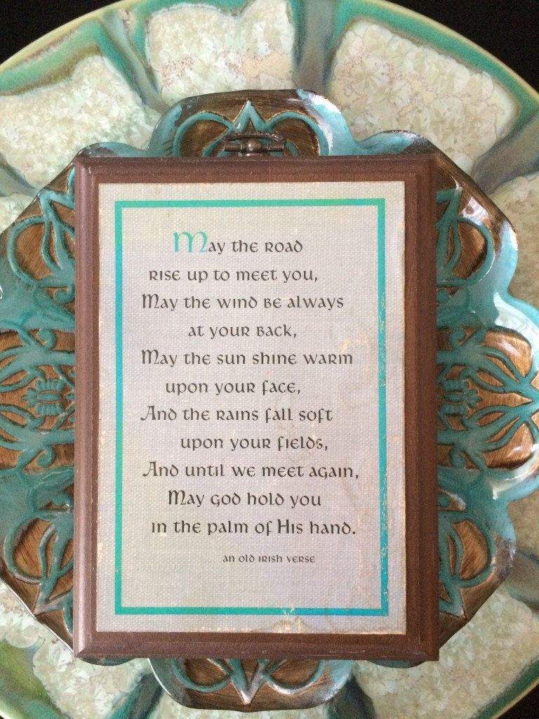 Famous Irish blessing
