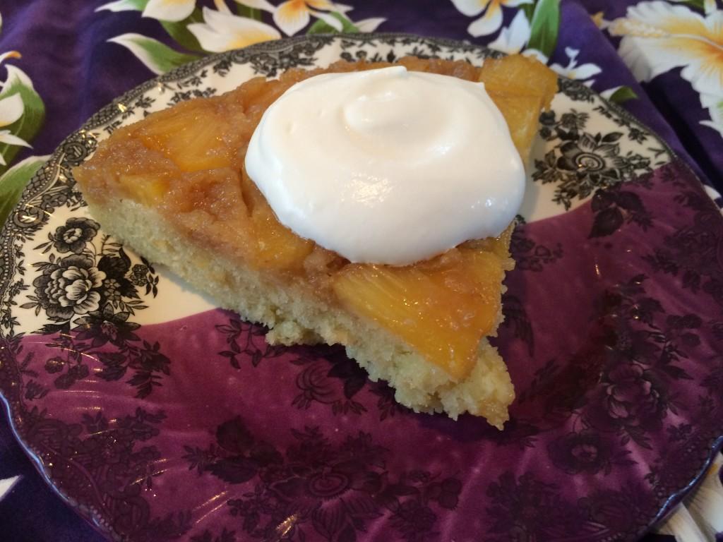 Pineapple Upside Down Cake Recipe from Fannie Farmer