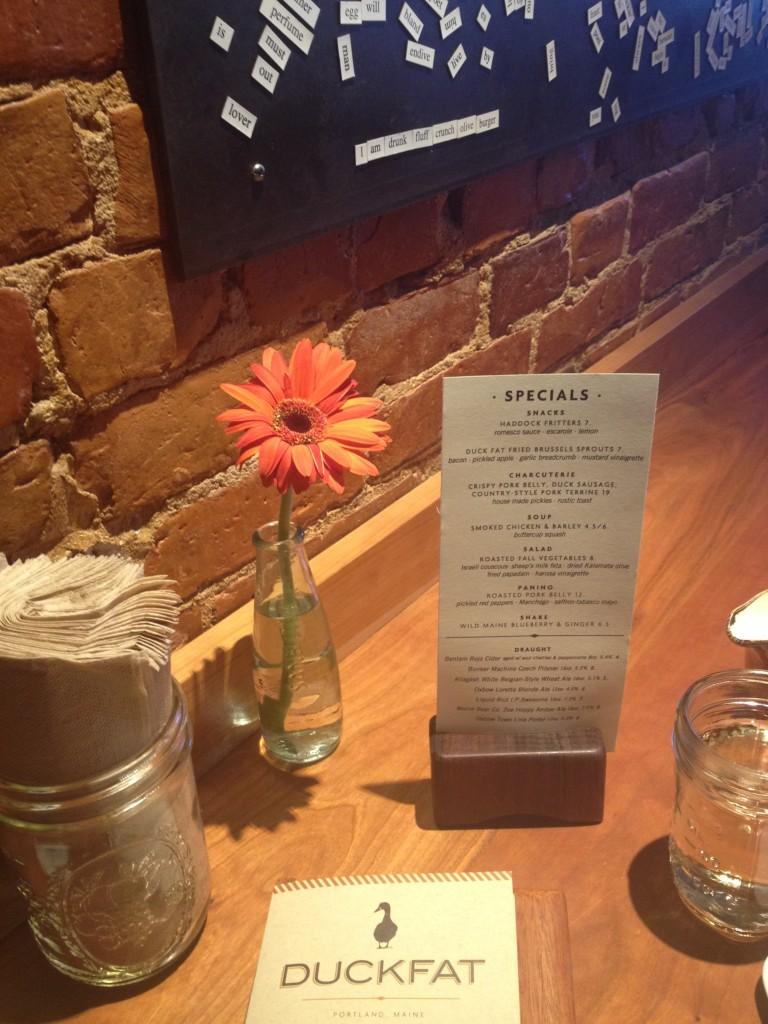 Duckfat Restaurant Portland Maine