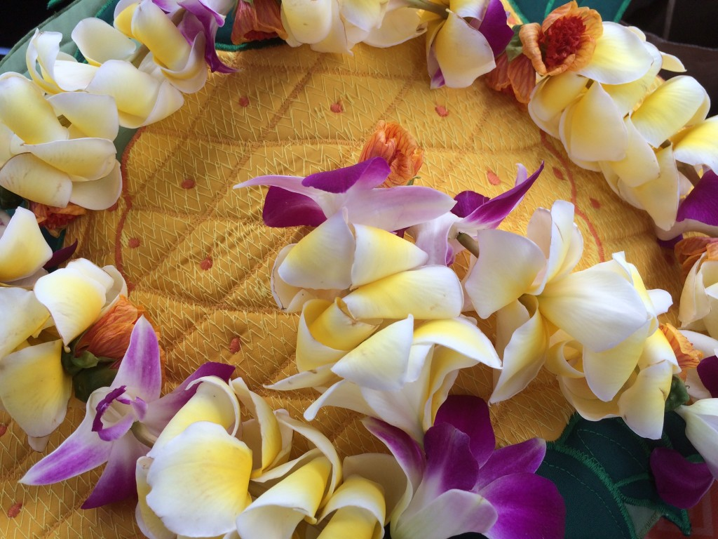 Beautiful Hawaiian lei